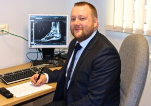 Mr Ryan McCallum Foot Surgery London